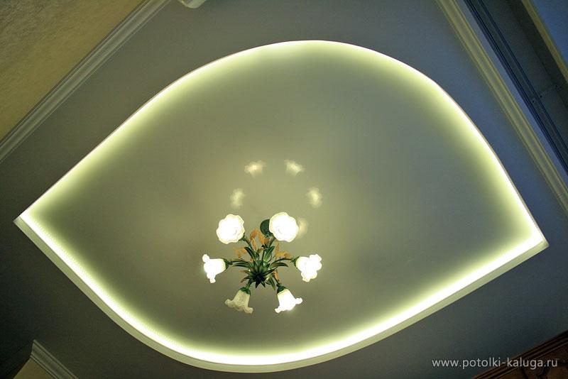 Фото натяжных потолков